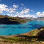 Yamdrok Yutso Lake in spring